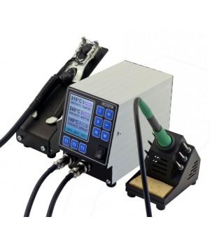 Двухканальная паяльная станция НеоТерм-2Т 36В