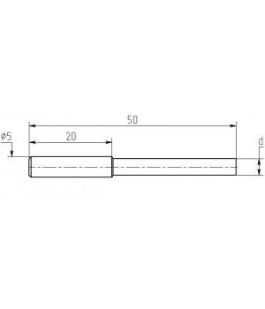Насадка паяльная MN20-Z-015, 1.5мм, медная затачиваемая